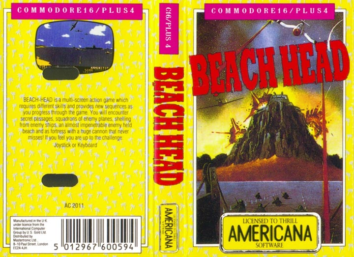 Cassette Front Cover (Americana Re-release)