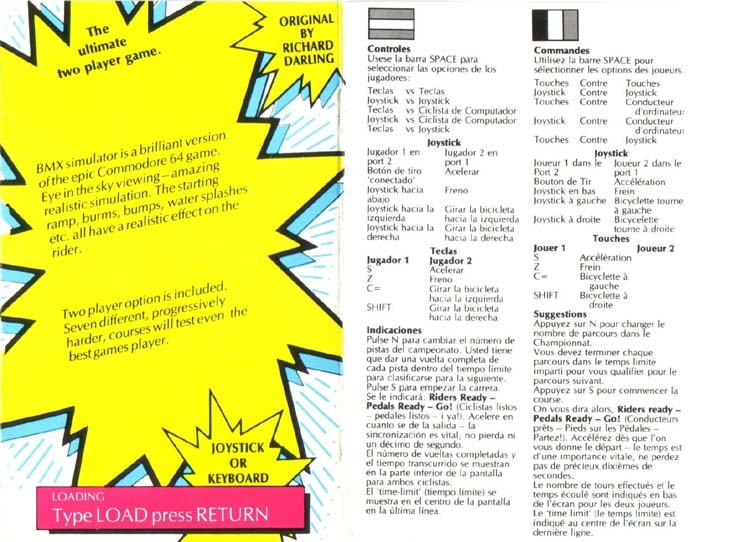 Cassette Front Cover (Side)