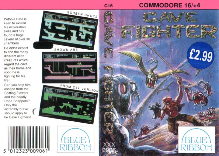 Cassette Cover (Blue Ribbon Release) (with price sticker)