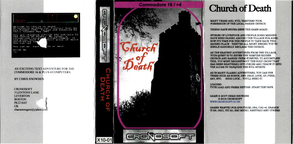 Cassette Cover (Later Version)