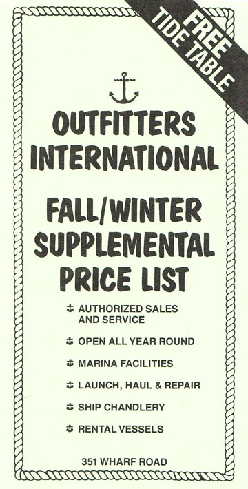 Supplemental Pricelist