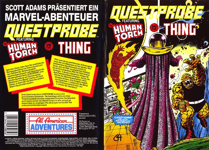 Disk Cover (German)