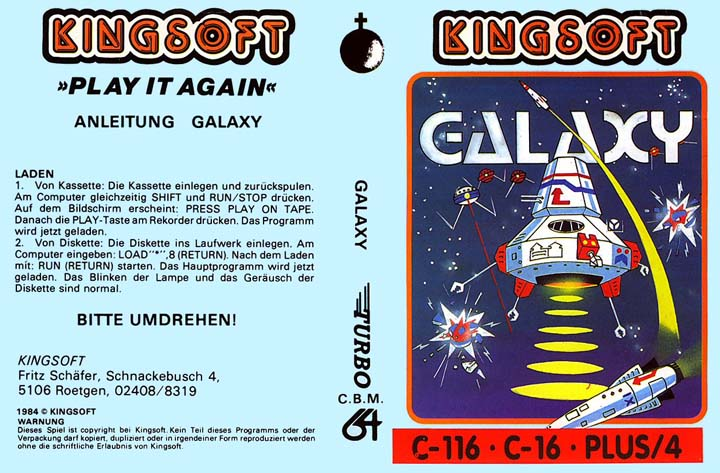 Cassette Cover Front (Kingsoft Release)
