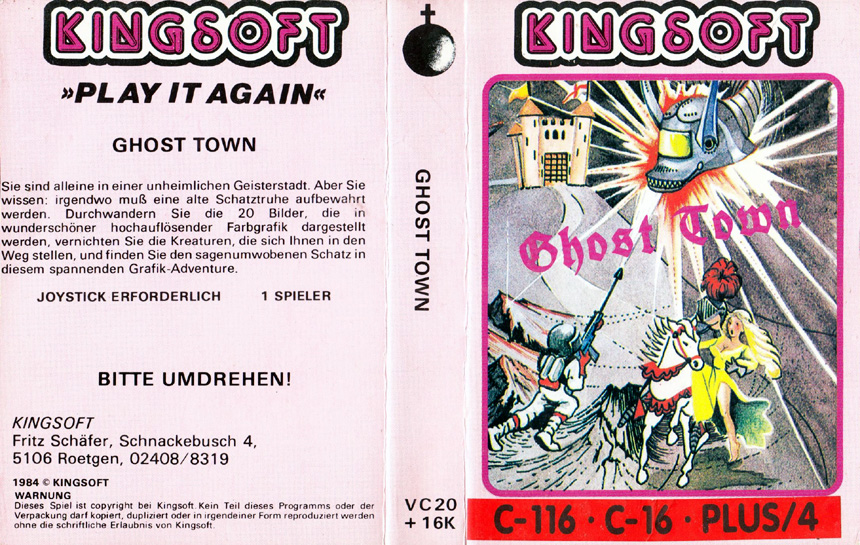Cassette Cover (Kingsoft)