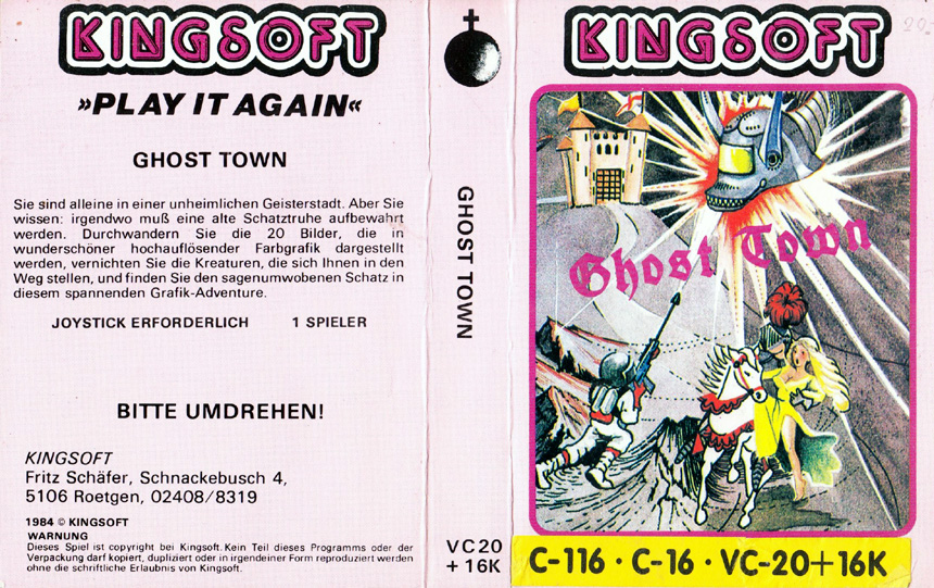 Cassette Cover (Kingsoft Multi)