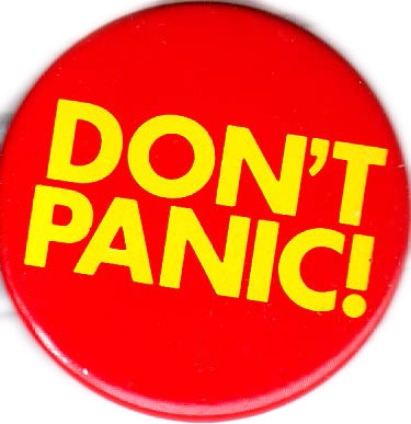 Don't Panic Button
