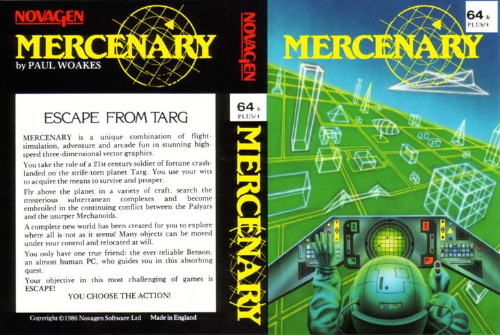 Alternative Cassette Cover (included with Mercenary Compendium Edition)