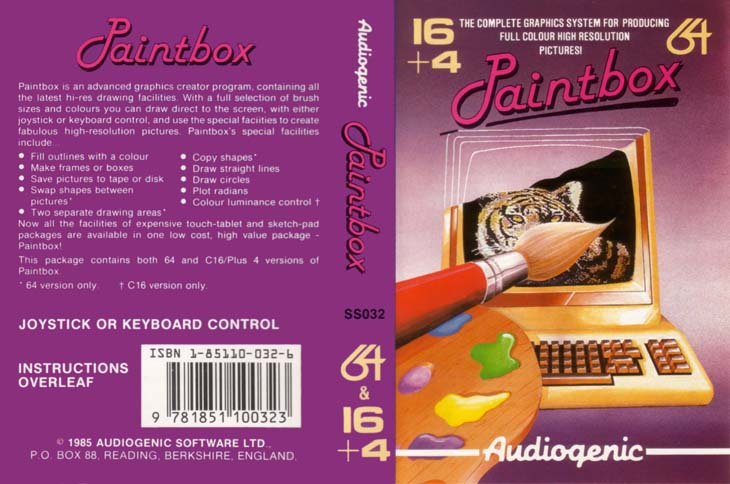 Cassette Front Cover (Audiogenic Release)
