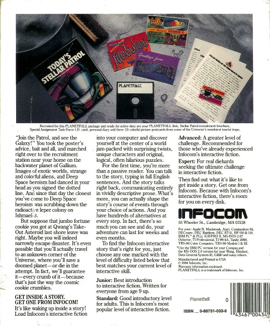 Disk Box Back Cover