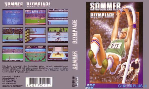 Sommer Olympiade Cassette Cover (German Release)