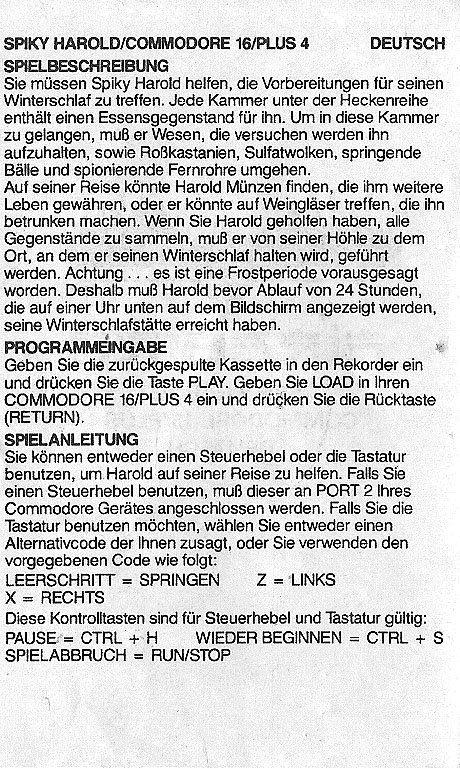 German Instructions Leaflet 2