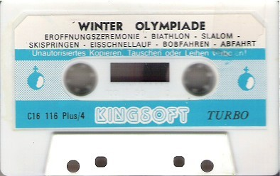 Winter Olympiade Tape