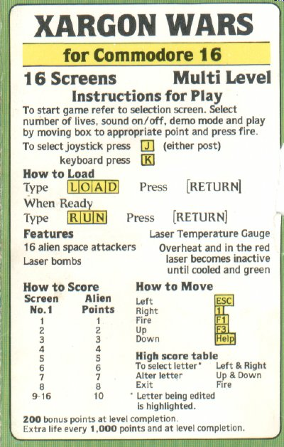Cassette Cover Instructions