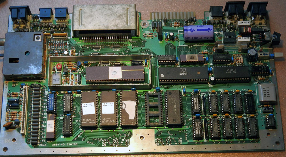 Rob Clarke's Commodore 264 Board