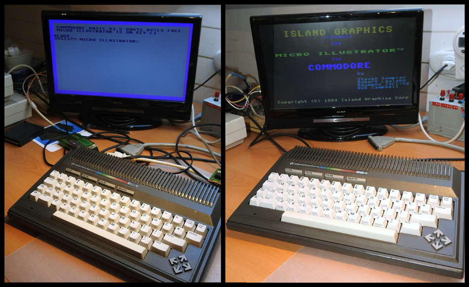 Rob Clarke's Commodore 264 Micro Illustrator ROM