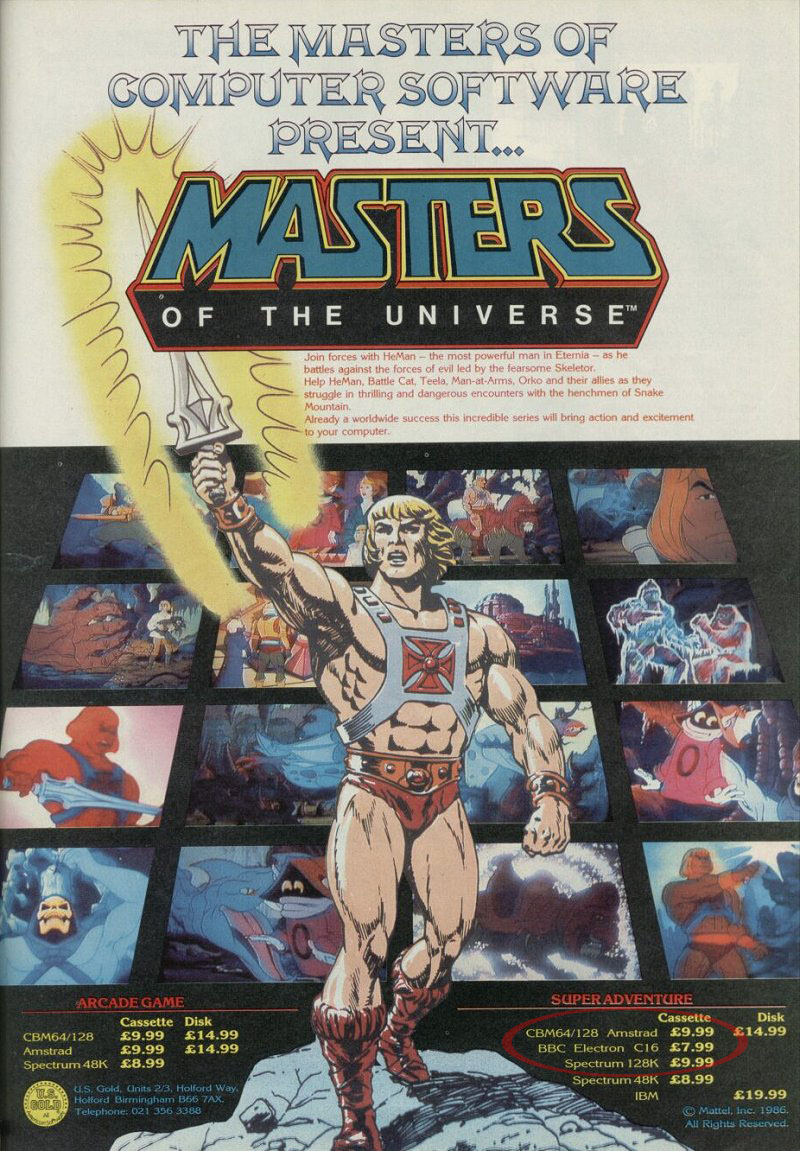Masters Of The Univers...
